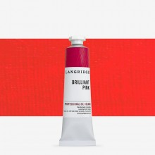 Langridge : Oil Paint : 40ml : Brilliant Pink