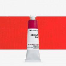 Langridge : Oil Paint : 40ml : Brilliant Pink