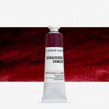 Langridge : Oil Paint : 40ml : Quinacridone Crimson