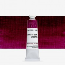 Langridge : Oil Paint : 40ml : Quinacridone Magenta