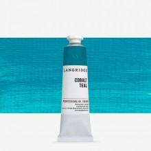 Langridge : Oil Paint : 40ml : Cobalt Teal
