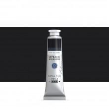 Lefranc & Bourgeois : Extra Fine Oil Paint : 40ml : Lamp Black