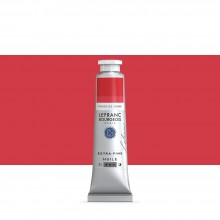 Lefranc & Bourgeois : Extra Fine Oil Paint : 40ml : Chinese Red
