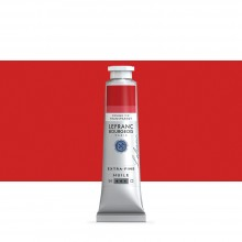 Lefranc & Bourgeois : Extra Fine Oil Paint : 40ml : Transparent Bright Red