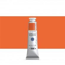Lefranc & Bourgeois : Extra Fine Oil Paint : 40ml : Cadmium-Free Yellow Orange
