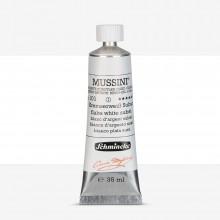 Schmincke : Mussini Oil Paint : 35ml : Flake White Substitute
