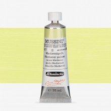Schmincke : Mussini Oil Paint : 35ml : Medieval Yellow
