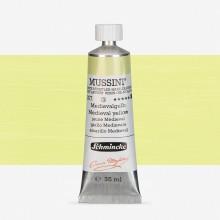 Schmincke : Mussini Oil Paint : 35ml : Medieval Yellow
