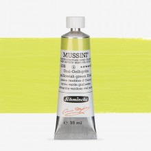 Schmincke : Mussini Oil Paint : 35ml : Yellowish Green Ural