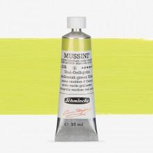 Schmincke : Mussini Oil Paint : 35ml : Yellowish Green Ural