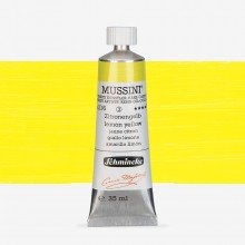 Schmincke : Mussini Oil Paint : 35ml : Lemon Yellow