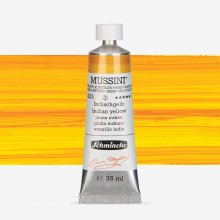 Schmincke : Mussini Oil Paint : 35ml : Indian Yellow