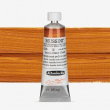 Schmincke : Mussini Oil Paint : 35ml : Transparent Yellow Oxide