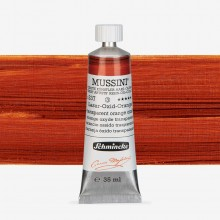 Schmincke : Mussini Oil Paint : 35ml : Transparent Orange Oxide