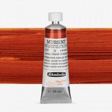 Schmincke : Mussini Oil Paint : 35ml : Transparent Orange Oxide