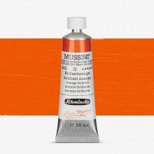 Schmincke : Mussini Oil Paint : 35ml : Chrome Orange Hue