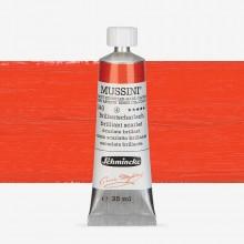 Schmincke : Mussini Oil Paint : 35ml : Brilliant Scarlet
