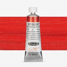 Schmincke : Mussini Oil Paint : 35ml : Madder Lake Brilliant