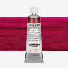 Schmincke : Mussini Oil Paint : 35ml : Transparent (Translucent) Magenta