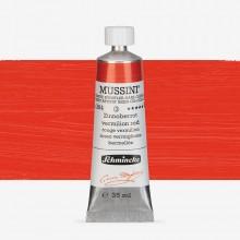 Schmincke : Mussini Oil Paint : 35ml : Vermilion Red Hue