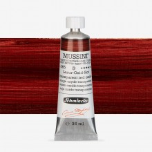 Schmincke : Mussini Oil Paint : 35ml : Translucent Red Oxide