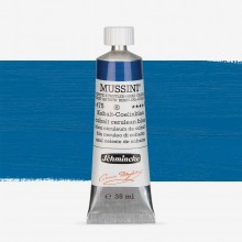 Schmincke : Mussini Oil Paint : 35ml : Cobalt Cerulean Blue