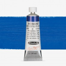 Schmincke : Mussini Oil Paint : 35ml : Cobalt Blue Light