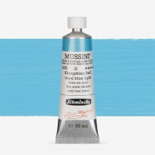 Schmincke : Mussini Oil Paint : 35ml : Royal Blue Light