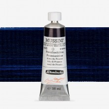 Schmincke : Mussini Oil Paint : 35ml : Prussian/Paris Blue