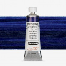 Schmincke : Mussini Oil Paint : 35ml : Delft Blue
