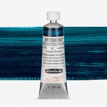 Schmincke : Mussini Oil Paint : 35ml : Translucent Turquoise