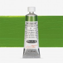 Schmincke : Mussini Oil Paint : 35ml : Chrome Green Light Hue