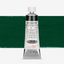 Schmincke : Mussini Oil Paint : 35ml : Chrome Green Deep Tone
