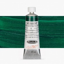 Schmincke : Mussini Oil Paint : 35ml : Chrome Green Oxide Brilliant