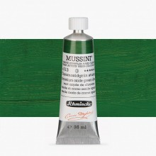 Schmincke : Mussini Oil Paint : 35ml : Chrome Green Oxide Deep