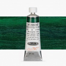 Schmincke : Mussini Oil Paint : 35ml : Helio Green Light