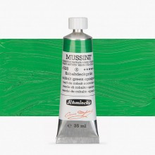 Schmincke : Mussini Oil Paint : 35ml : Cobalt Green Opaque