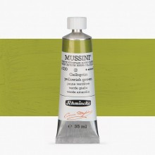 Schmincke : Mussini Oil Paint : 35ml : Yellowish Green