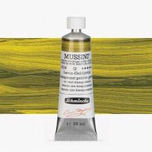 Schmincke : Mussini Oil Paint : 35ml : Translucent Golden Green