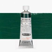 Schmincke : Mussini Oil Paint : 35ml : Tourmaline Green