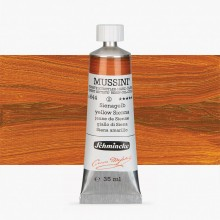 Schmincke : Mussini Oil Paint : 35ml : Yellow Sienna