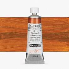 Schmincke : Mussini Oil Paint : 35ml : Yellow Sienna