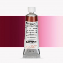 Schmincke : Mussini Oil Paint : 35ml : Pompeiian Red