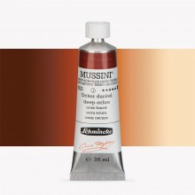 Schmincke : Mussini Oil Paint : 35ml : Deep Ochre