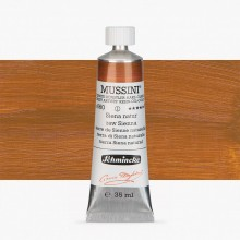 Schmincke : Mussini Oil Paint : 35ml : Raw Sienna