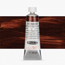 Schmincke : Mussini Oil Paint : 35ml : Translucent Brown Oxide