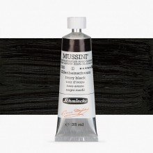 Schmincke : Mussini Oil Paint : 35ml : Ivory Black