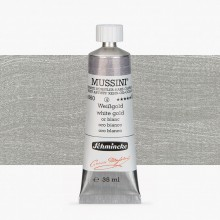 Schmincke : Mussini Oil Paint : 35ml : White Gold