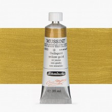 Schmincke : Mussini Oil Paint : 35ml : Yellow Gold