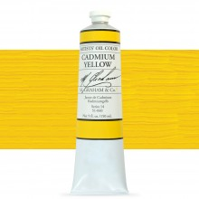 M. Graham : Artists' Oil Paint : 150ml : Cadmium Yellow